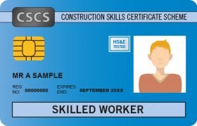 CSCS Skilled Worker card